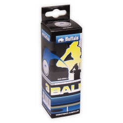 Míčky na stolní tenis Buffalo TT Balls celluloid-free Competition 3ks