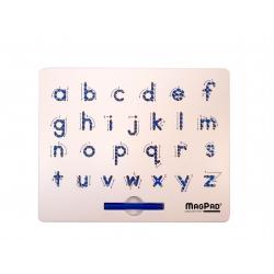 Magnetická kreslící tabulka Magpad Abeceda malá tiskací písmena poškozený obal