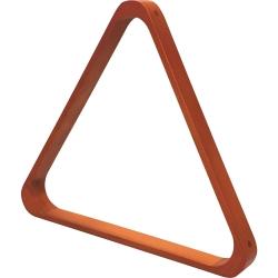 Trojúhelník pool dřevěný De Luxe 57,2 mm Dark Maple