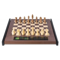 Šachový počítač Revelation II s figurami Timeless se závažím