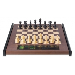 Šachový počítač Revelation II s figurami Ebony