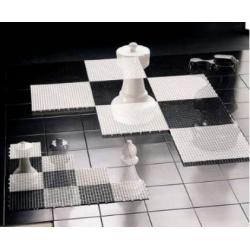 Šachovnice pro zahradní šachy malá