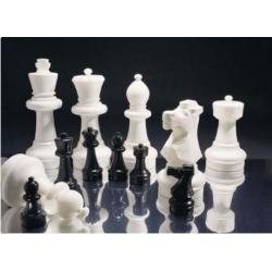 Šachové figury zahradní velké 63cm