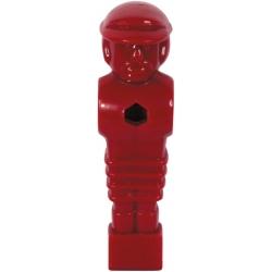 Hráč stolní fotbal Solid červený Ø 16mm