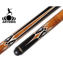 Tágo karambol Mister 100 Artemis Brown Black/White Decal + Dárek Gabriels křída