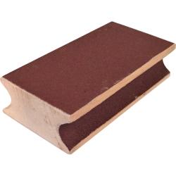Brousek kůže sanding block wood 9 cm