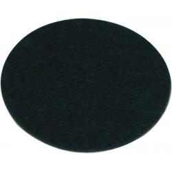 Podložka filc pro Air hokej hokejku 96 mm černá