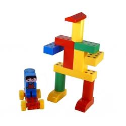 Magnetická stavebnice Magnetiko set 19 ks - plast box