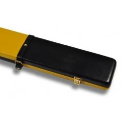 Kufřík Peradon kožený 3/4 Black/Yellow