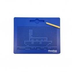 Magnetická kreslící tabulka MagPad BIG 714 kuliček,Barva Modrá
