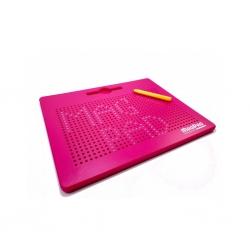 Magnetická kreslící tabulka MagPad BIG 714 kuliček,Barva Růžová Rozbaleno