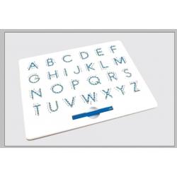 Magnetická kreslící tabulka MagPad Abeceda Velká tiskací písmena Rozbaleno