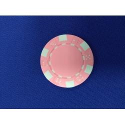 Pokerový žeton růžový