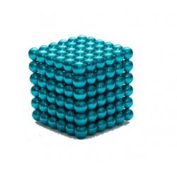 Magnetické kuličky Neocube Ø 5mm Puzzle Tyrkys