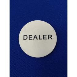 Dealer button tištěný plastový
