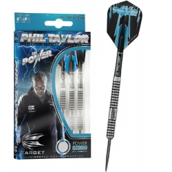 Šipky Steel Phil Taylor Power 8 Zero 21g