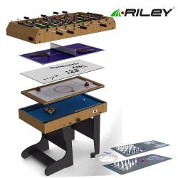 Stůl multifunkční sklopný Riley 12 her