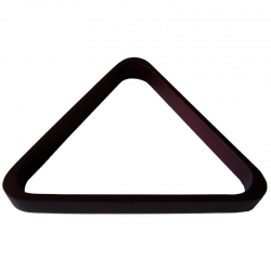 Trojúhelník pool dřevo mahagon 57,2 mm