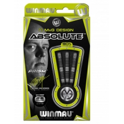 Šipky Soft Winmau MvG Absolute 22 g