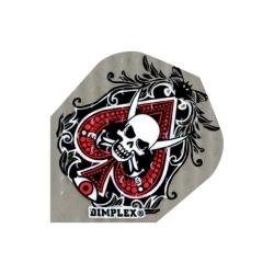 Letky DIMPLEX standard grey skull