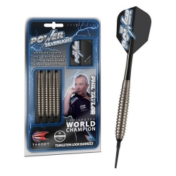 Šipky Soft Phil Taylor Power - Silverlight - Tungsten look18 g