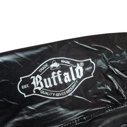 Krycí plachta na kulečník Buffalo černá s logem