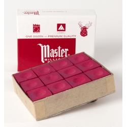 Kulečníková křída Master Red červená