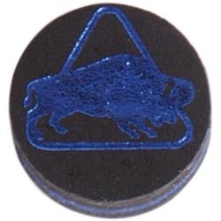 Kůže vrstvená Buffalo Medium 14mm Black