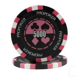 POKEROVÝ ŽETON PRO-POKER CLAY 5000