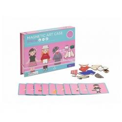 Magnetická kazeta - Oblékání 50 ks