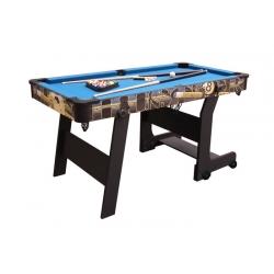 Kulečníkový stůl Pool Buffalo Rookie sklopný 5 FT Folding