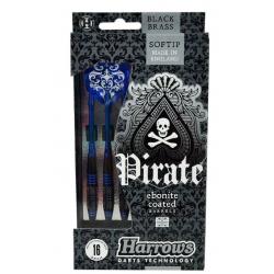 Šipky soft Pirate 16 g Blue