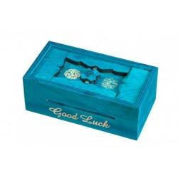 Hlavolam Greek Secret Box Blue Philo