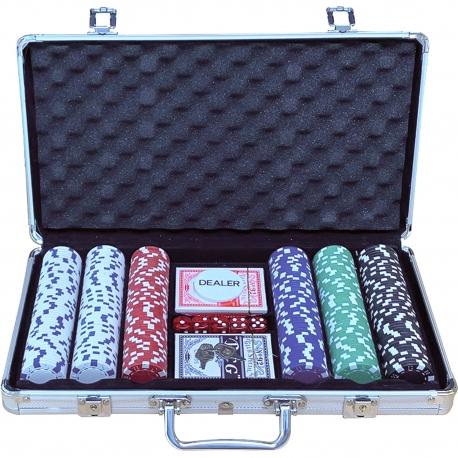 Pokerový kufřík Aluminium