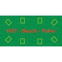 Plážová osuška Hot Beach Poker 140 x 70 cm