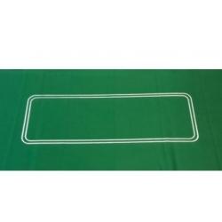 Plátno Poker 182 x 93 cm zelené s betline