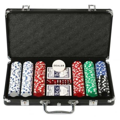 Pokerový kufřík Las Vegas Black 300