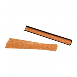 Brousek na úpravu kůže - kovový 23,5cm