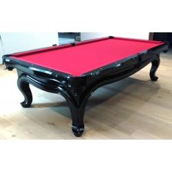 Kulečníkový stůl Clash Piano black  pool 9ft