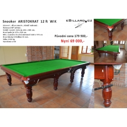 Snooker Aristocrat  12ft