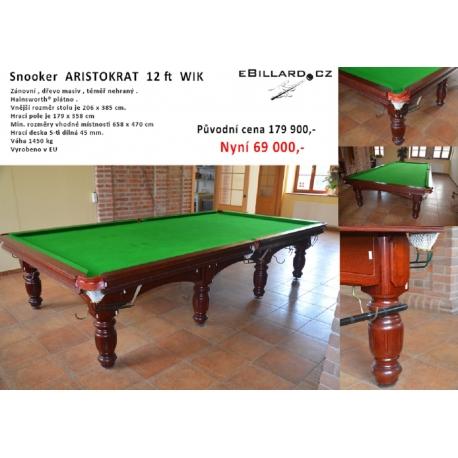 Snooker Aristocrat  12ft