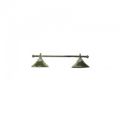 Lampa CLUB 2 kov / sklo gold