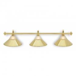 Lampa CLUB 3 kov / sklo gold