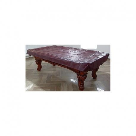 Koženková pokrývka na stůl mahagon 7-12ft