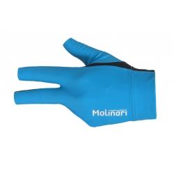 Molinari Glove Cyan Blue