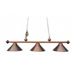 Kulečníková lampa Rustica Antik bronze