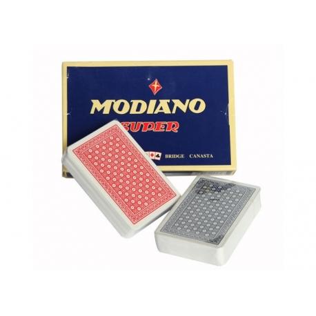 Karty Modiano Super 100% Plastic