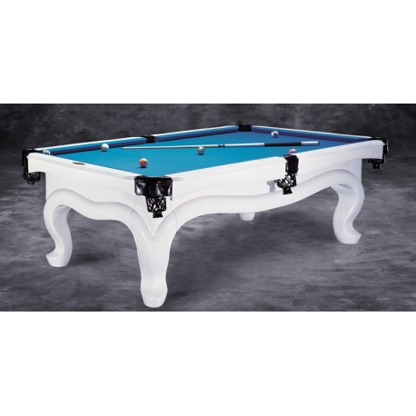 Kulečník Billiard Piano white