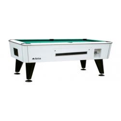 Kulečníkový stůl Buffalo  Knight 8ft mincovní / žetonový bílá barva