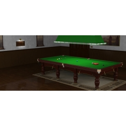 Riley Aristocrat snooker standart Mahagony 12ft